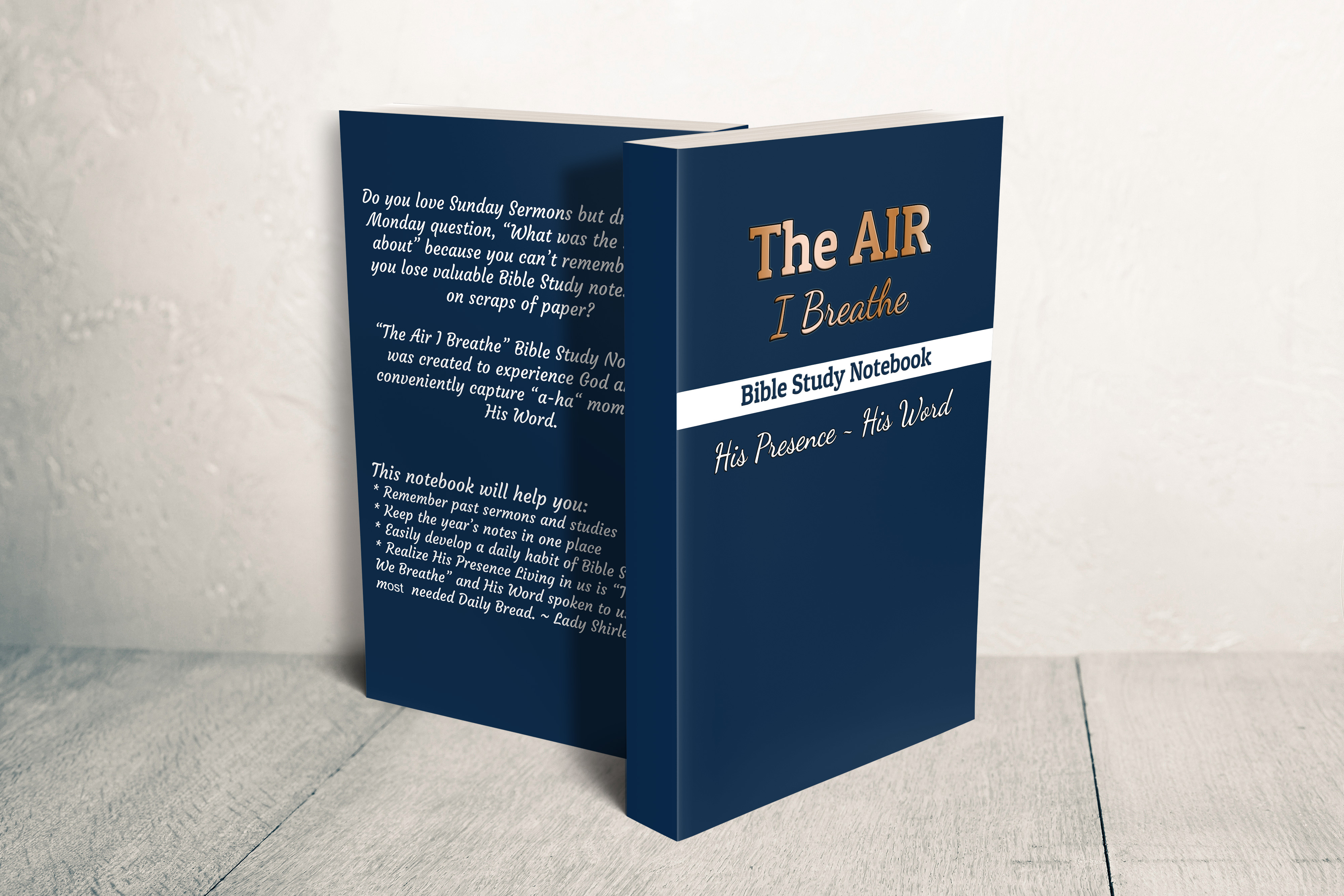 The Air I Breathe Bible Study Notebook